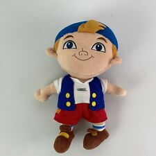 """Disney Store CUBBY Jake and the Neverland Pirates Plush Stuffed Toy 12"""""""