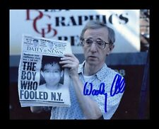 WOODY ALLEN AUTOGRAPHED SIGNED & FRAMED PP POSTER PHOTO