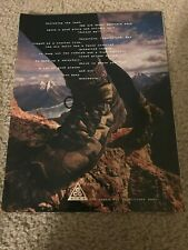 Vintage 1996 NIKE AIR RATIC APPROACH SHOE ACG Poster Print Ad 1990s RARE