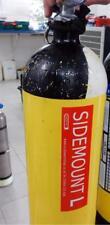 Sidemount L  Left Cylinder Tank  ID Decal Sticker Rebreather Tech Trimix Scuba