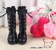 ☆╮Cool Cat╭☆【14-06】Blythe Pullip Doll Boots # Black
