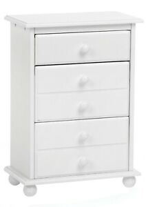 NEW! White Laurent Wooden 18 Inch Doll Clothes Dresser Fits American Girl Dolls