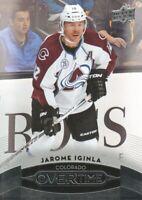 2015-16 Upper Deck Overtime Hockey #122 Jarome Iginla Colorado Avalanche