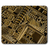 Computer Mouse Mat - Virtual Currency Pattern Bitcoin Office Gift #14358