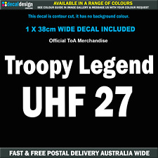 UHF 27 Troopcarriers of Australia Troopy Legend call sign channel decal #TOA013