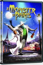 NEW DVD - A MONSTER IN PARIS - Vanessa Paradis, Sean Lennon, Adam Goldberg,