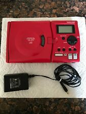 Tascam Portable Cd Guitar Trainer Cd-Gt1 with Ac Adaptor - Tested and working