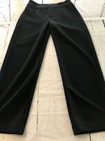 Chico's Women's Pants Black Stretchy Straight Leg Chico's Size 1 Or 8 X 30