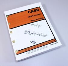 CASE W24C FRONT END WHEEL LOADER PARTS MANUAL CATALOG ASSEMBLY EXPLODED VIEWS
