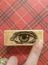 Eye Rubber Stamp Scrapbooking Embossing Crafts Supplies lot