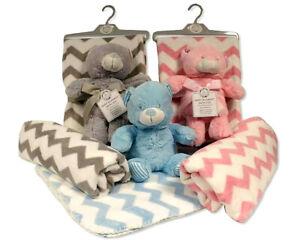 Soft Blanket for a Baby Stroller SIZE 75/100cm