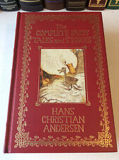 The Complete Fairy Tales of Hans Christian Andersen - leather-bound - VG+