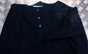 Genuine British Army No1 Blues Uniform Dress Trouser No stripe Hussars TRHQ11