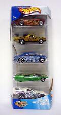 Hot Wheels camoflamage Paquete de 5 SET DE REGALO Die-Cast Cars MISB 2002