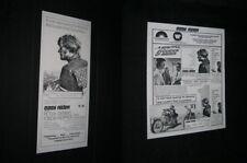 Original EASY RIDER New Zealand Daybill + Press Sheet NEAR MINT Fonda HOPPER