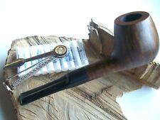 Tabakpfeife Walnuß, Walnußpfeife gerade mit Stopfer und Filter NEU