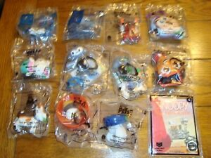 Lot of 12 McDonalds Happy Meal Toys - Frozen II, Pets2, Toy Story - New & Sealed