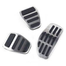 3x/ set Gas & Brake & Clutch Pedal Cover Fit for Nissan Qashqai (J11) 2014-2019