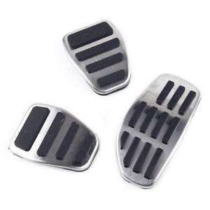 3x/ set Gas & Brake & Clutch Pedal Cover Fit for Nissan Qashqai (J11) 2014-2019