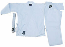 KARATE,TAEKWONDO,MARTIAL ARTS GI,WHITE COLOR 7-OZ WITH FREE WHITE BELT THREAD(R)