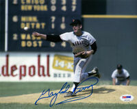 GAYLORD PERRY SIGNED AUTOGRAPHED 8x10 PHOTO SAN FRANCISCO GIANTS PSA/DNA