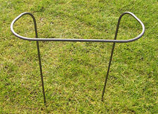 4 X PLANT SUPPORTS  - 610mm HIGH HEAVY DUTY METAL GARDEN FLOWER SUPPORT
