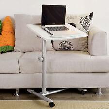 Sobuy table de lit avec Plateau inclinable À hauteur Assistée PC Fbt07n2-w FR