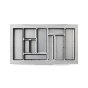 Kitchen Cutlery Tray Storage Drawer Organizer Insert Divider 900mm Cabinet AU