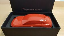 Porsche Cayenne Coupe Turbo 2019 - Lava Orange scale 1:43 Paperweight