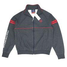 NWT Gosha Rubchinskiy Sergio Tacchini Gray Logo Track Jacket L SS17 DS AUTHENTIC