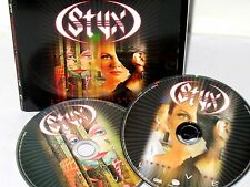 Styx The Grand Illusion/Pieces of Eight LIVE 2 CD MUSIC ROCK SET COME SAIL AWAY