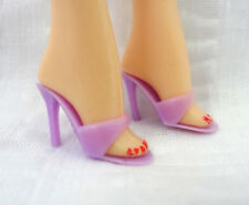 Barbie Doll Purple Mules Skinny Strap Shoes Sandals Heels Philippines