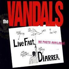 The Vandals LIVE FAST, DIARREA Nitro Records DIARRHEA New Green Colored Vinyl LP