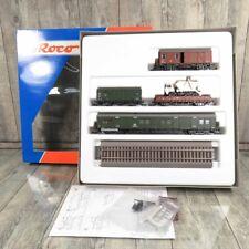 ROCO 44023 - H0 - Set 4 - DB - Stück Güterwagen  3 Mal Gleise - OVP - #A19441