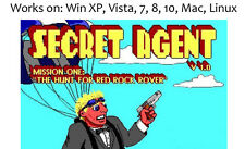 Secret Agent 1992 PC Mac Linux Game Apogee