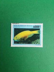 Bénin surchargé overprint 1000f sur 200f neuf MNH Poisson