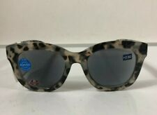 PEEPERS Center Stage Gray Tortoise Readers Sunglasses 2.5 $25 NWT