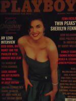 Playboy December 1990 | Morgan Fox Sherilyn Fenn  #7490