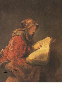 Kunstkarte / Postcard Art :  Rembrandt: Bildnis der Mutter