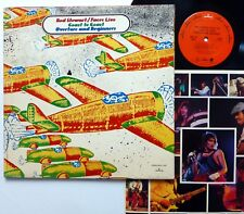ROD STEWART / FACES LIVE Coast To Coast LP Mercury Rock 1973   Kz45