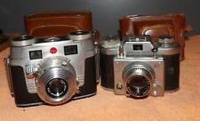 Vintage Kodak Signet 35 & Samoca 35 Iii Cameras