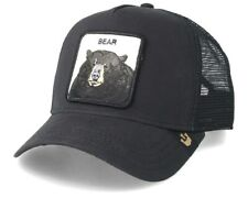 Hat Goorin Bros Animal Trucker Hats Animals Bear Bear Black Footballers