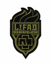 Rammstein Lifad Patch Hard Rock Heavy Metal Band Logo