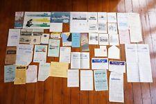 More details for shipping emphemera label publicity guides timetables postcards letter paper