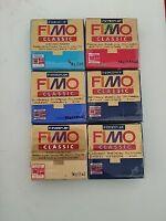Pasta modellabile per bigiotteria FIMO STAEDTLER 56gr STOCK 6 PZ arte creativa