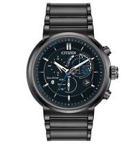Citizen Eco-Drive Men's Proximity Chronograph Black 46mm Smart Watch BZ1005-51E