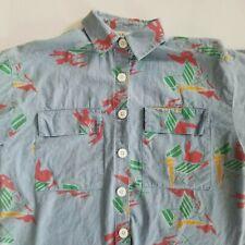 Vintage 80s/90s Diane Von Furstenberg DVF Pop Art abstract Top Blouse Shirt Sz M