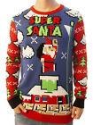 Ugly Christmas Party Sweater Unisex Men's Super Santa