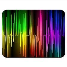 MOUSE MAT 62 Colourful HeartBeat Chart Rainbow Premium Mouse mat gift