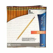 *Paper Mate Mirado Woodcase Pencils, HB 2, Yellow Barrel,192ct*Free Shipping